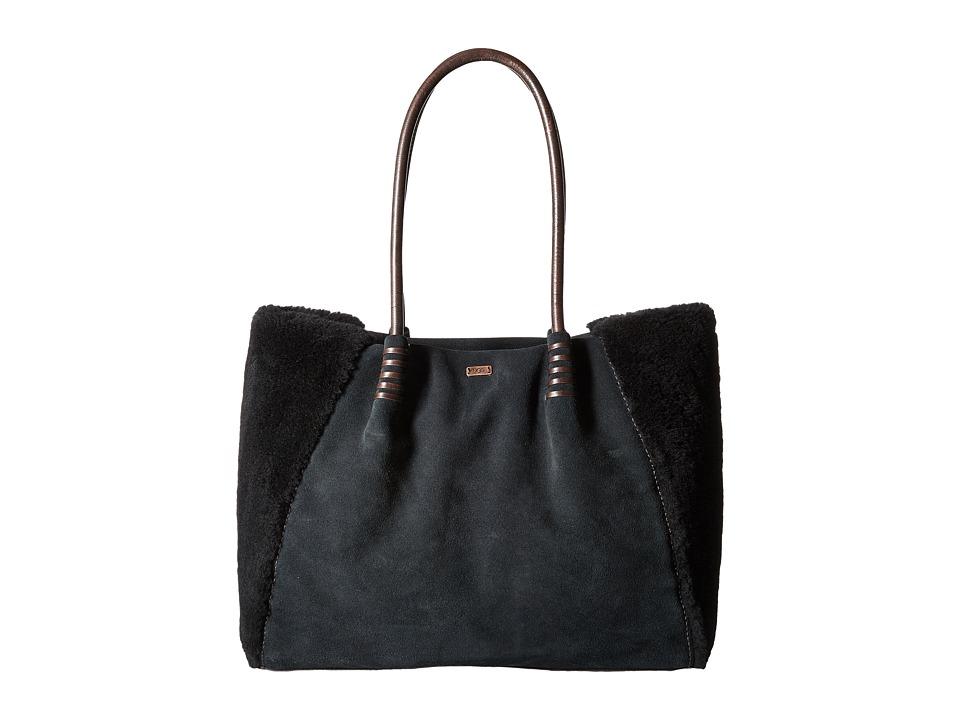 UGG - Heritage Tote (Black) Tote Handbags