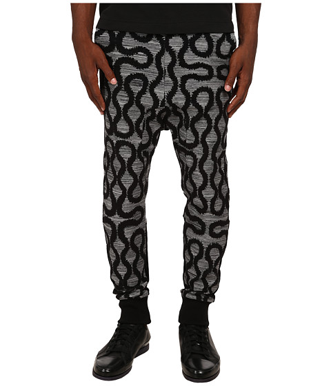Vivienne Westwood MAN - Squiggle Jogger (Grey Multi) Men's Casual Pants