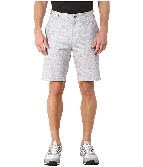 adidas Golf - Stretch Camo Print Shorts (Clear Onix/Mid Grey) Men