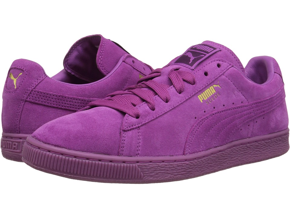 PUMA - The Suede Classic+ Mono Iced (Meadow Mauve/Team Gold) Men's Shoes