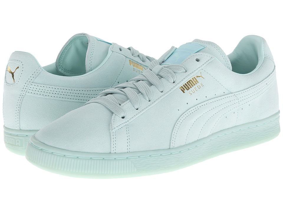 PUMA - The Suede Classic+ Mono Iced (Fair Aqua/Team Gold) Men