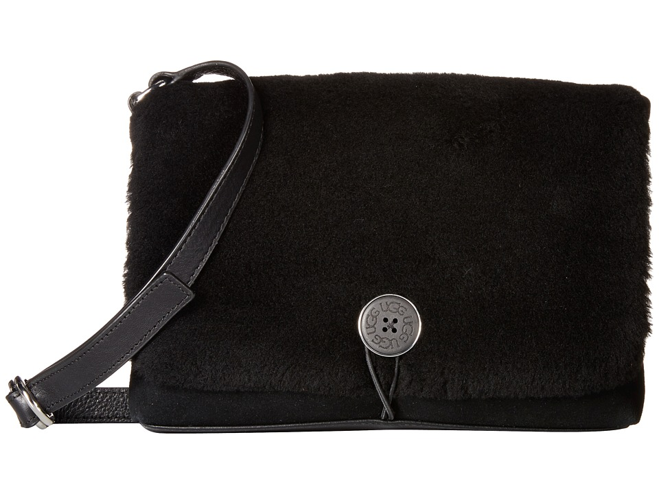 UGG - Bailey Messenger (Black) Messenger Bags