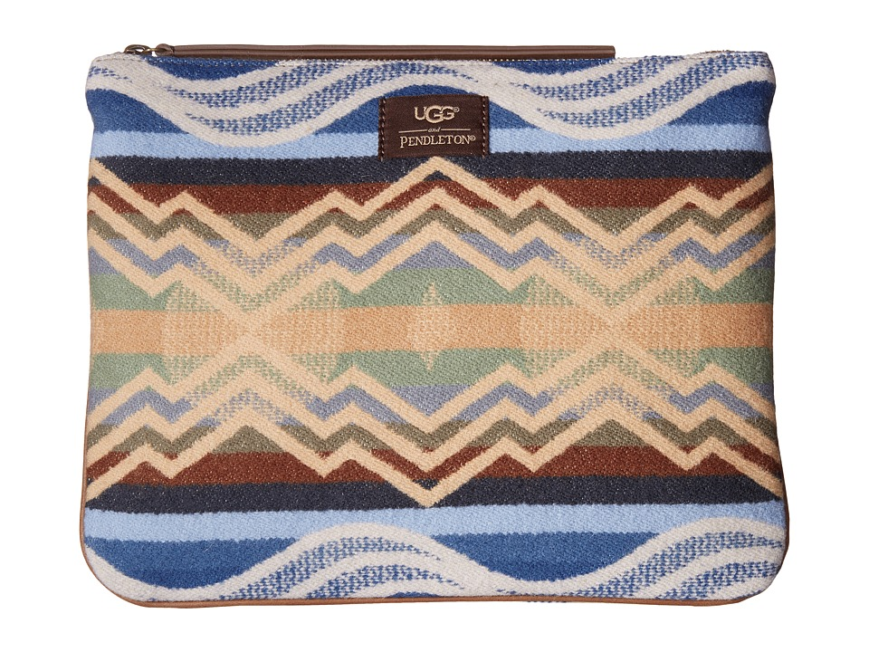 UGG - Everett Pendleton Pouch (Chestnut) Wallet