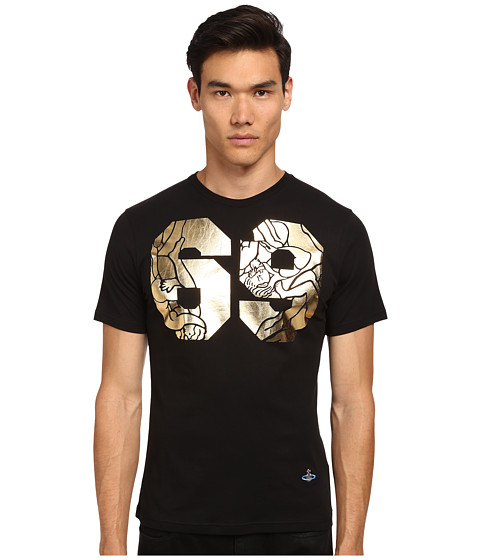 Vivienne Westwood MAN - 69 T-Shirt (Black) Men