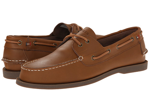 Tommy Hilfiger - Bowman (Brown) Men's Slip on Shoes
