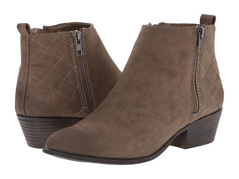 Madden Girl - Holywood (Stone Paris) Women's Zip Boots