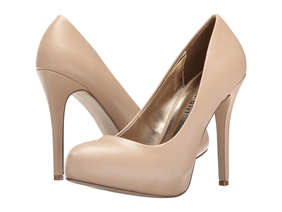Madden Girl - Hollisss (Nude Paris) High Heels