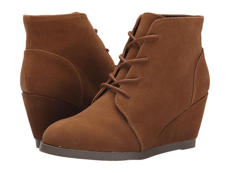 Madden Girl - Domain (Chestnut Micro) Women's Wedge Shoes