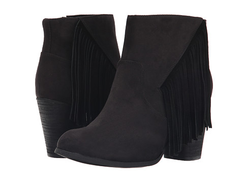 Madden Girl - Descent (Black Fabric) Women's Boots
