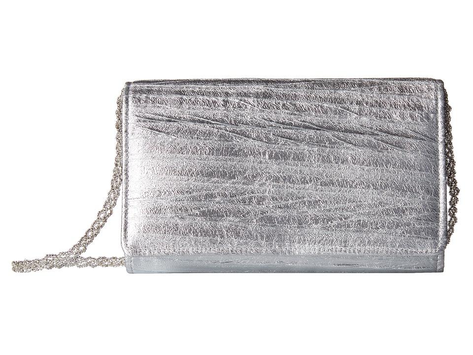 Nina - Ancelina (Silver) Clutch Handbags