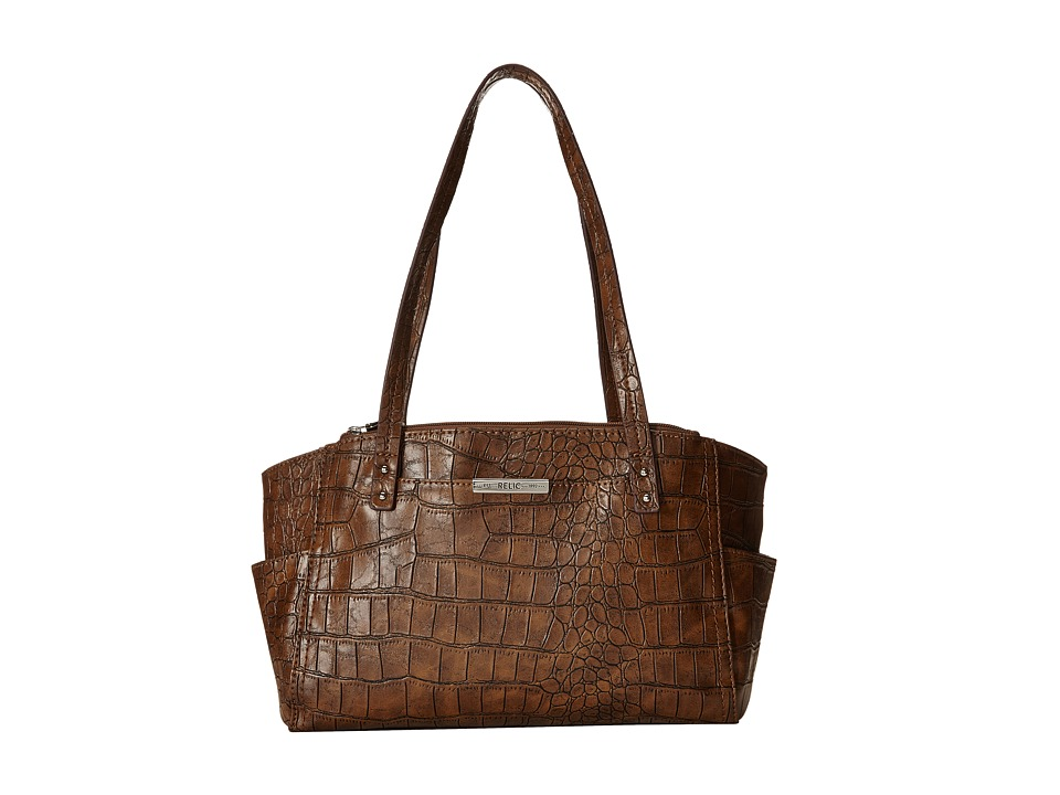 Relic - Caraway Double Shoulder (Chocolate) Shoulder Handbags