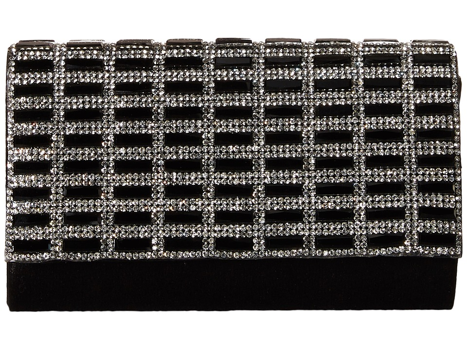Nina - Hasina (Black/Silver) Handbags