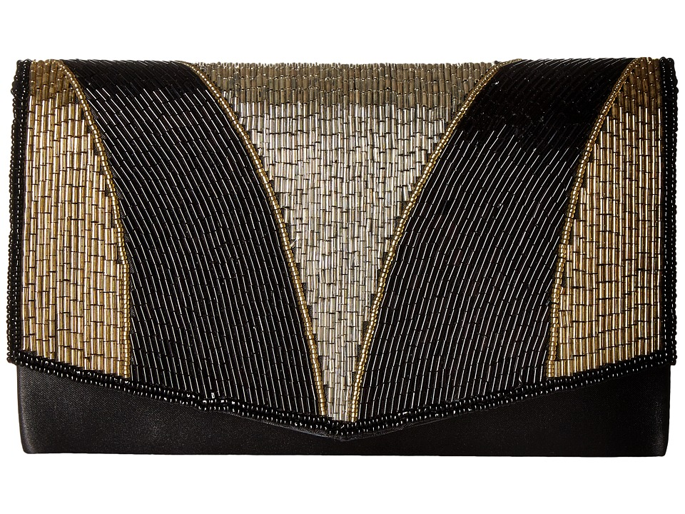 Nina - Mika (Black/Gold/Silver) Handbags