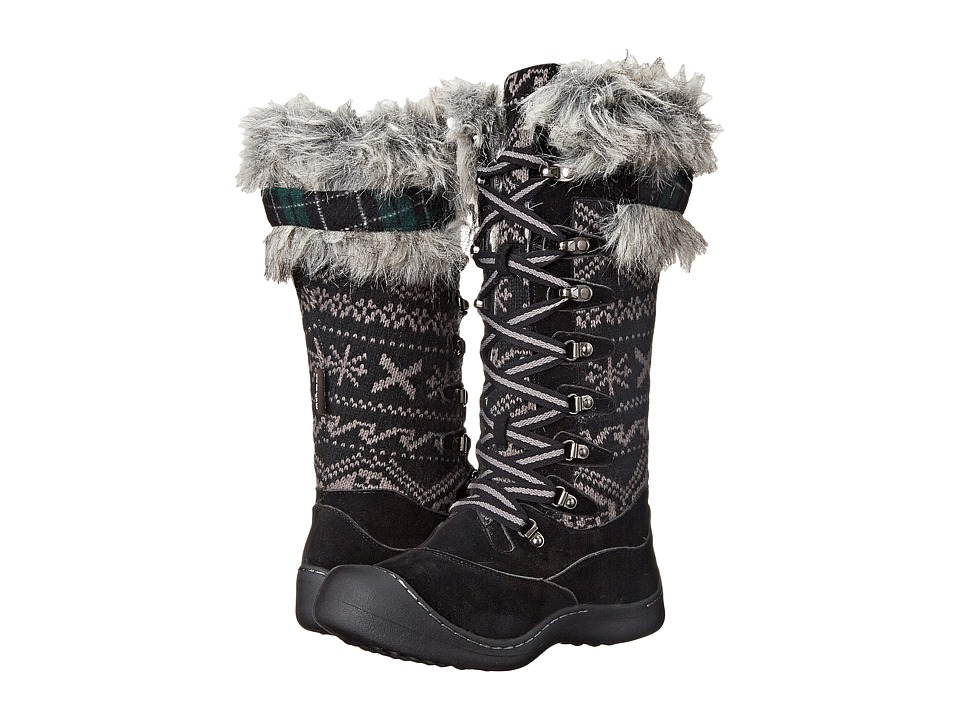 MUK LUKS Gwen Tall Snow Boot (Black) Women