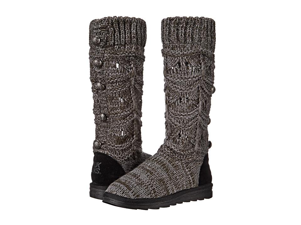 MUK LUKS - Jamie (Grey) Women's Boots