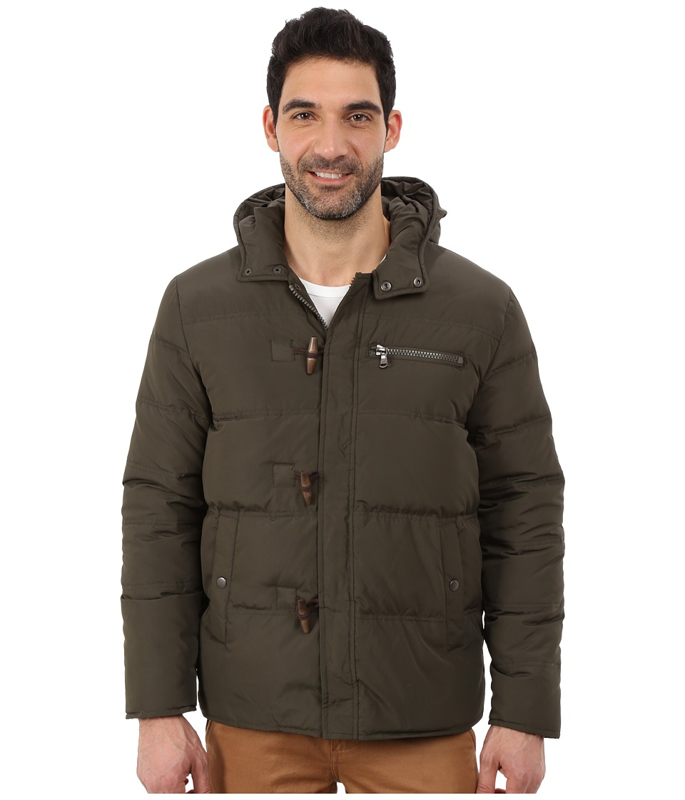 Kenneth Cole New York - Duffle Puffer Jacket (Sage) Men