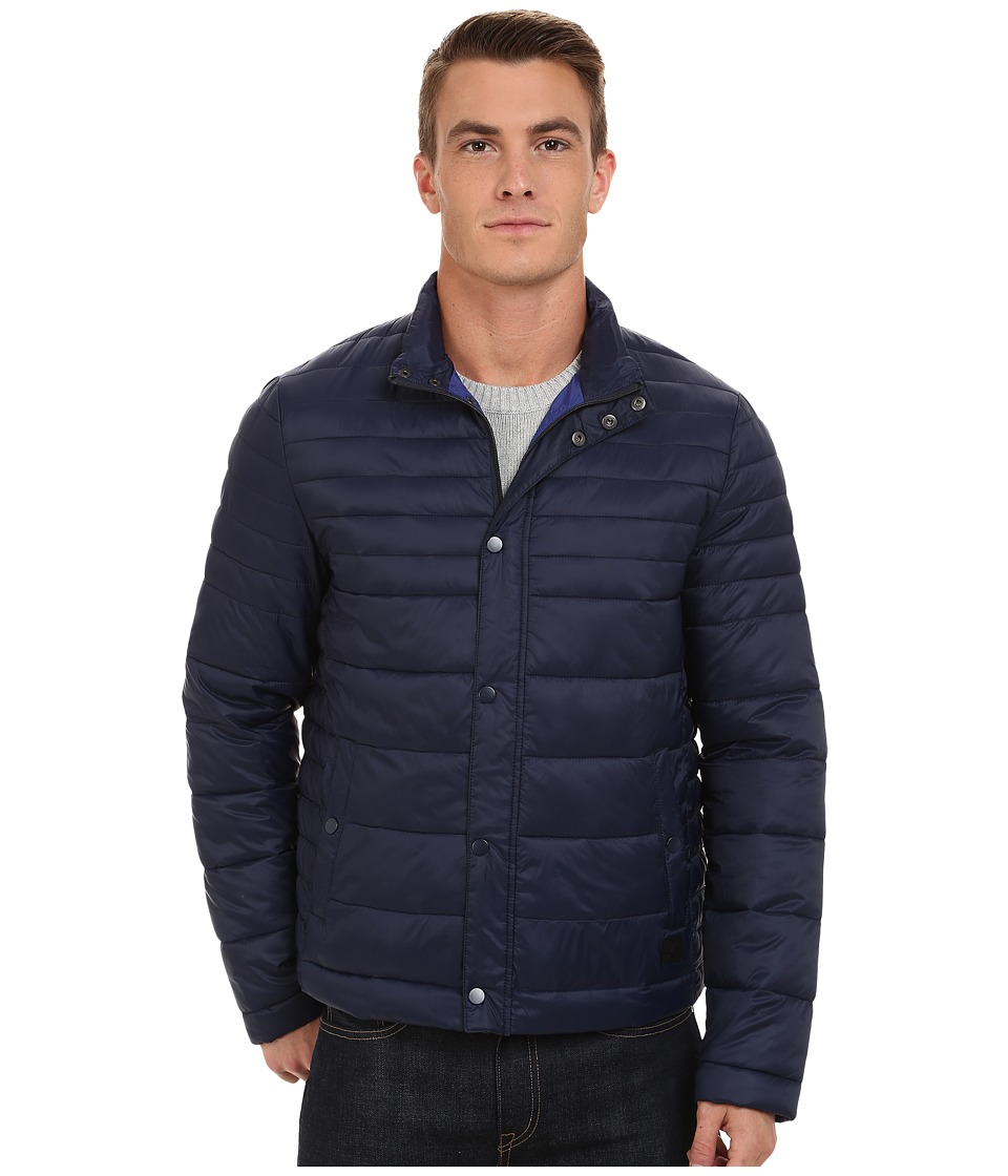 Kenneth Cole New York - Quilted Poly Jacket (Midnight) Men's Coat