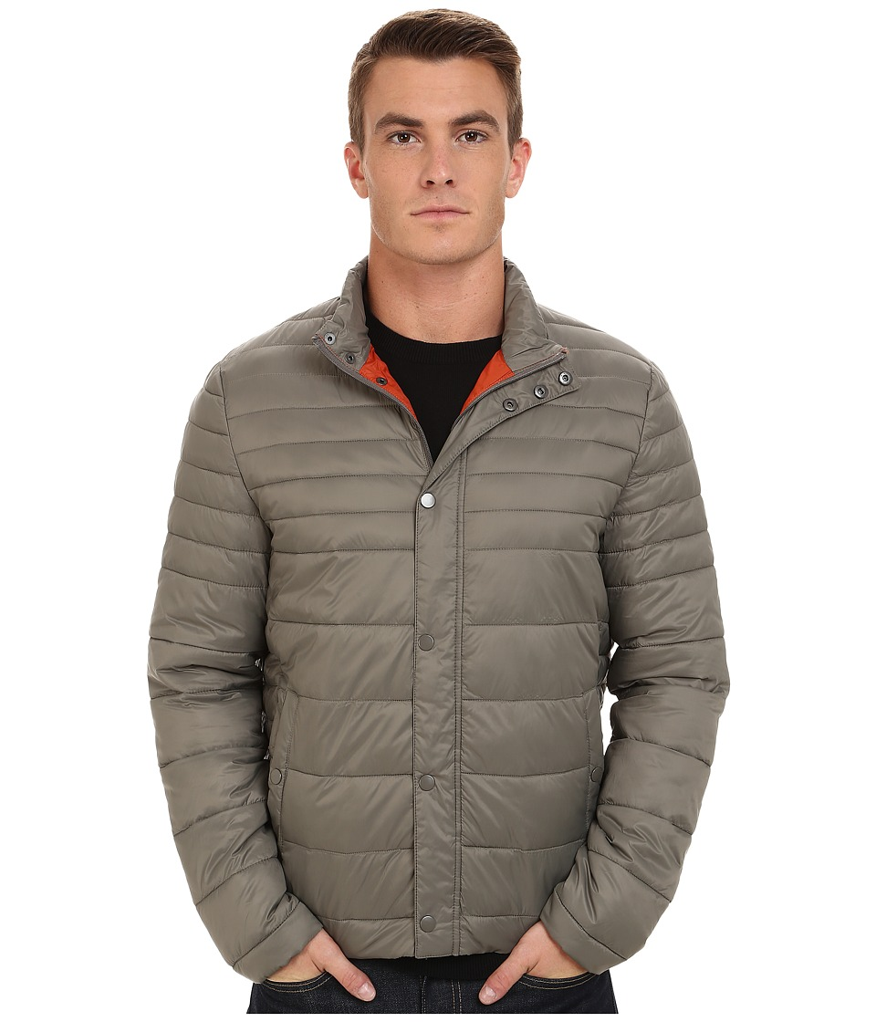Kenneth Cole New York Quilted Poly Jacket (Taupe) Men