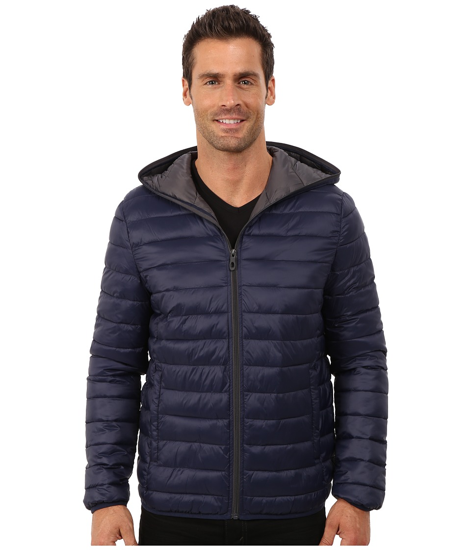 Kenneth Cole New York Packable Down Jacket (Midnight) Men