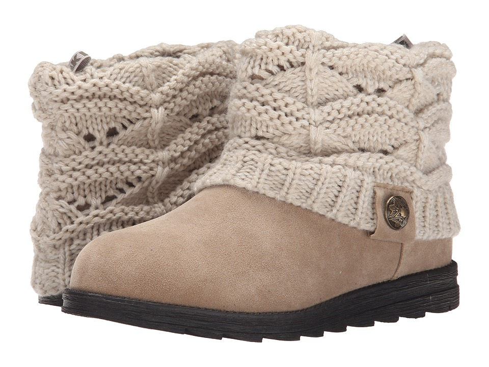 MUK LUKS - Patti (Light Beige) Women's Cold Weather Boots