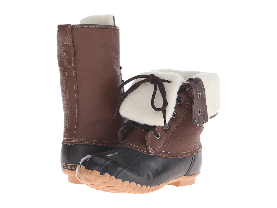 Tundra Boots - Barbara (Brown/Tan) Women's Cold Weather Boots