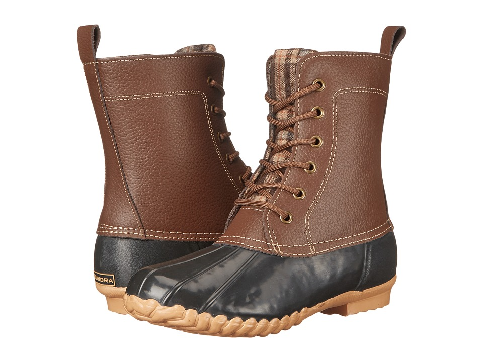 Tundra Boots - Albany (Brown/Tan) Women's Waterproof Boots