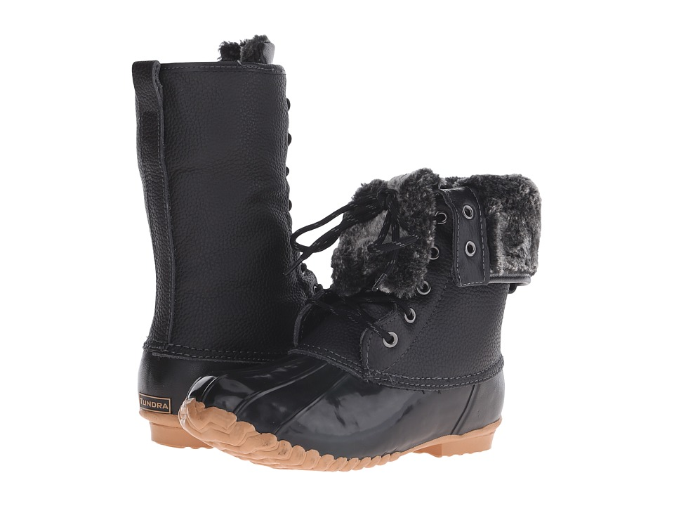 Tundra Boots - Barbara (Black) Women's Cold Weather Boots