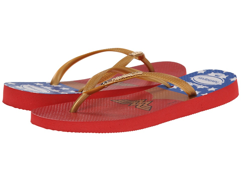Havaianas - Wonder Woman (Ruby Red) Women's Sandals
