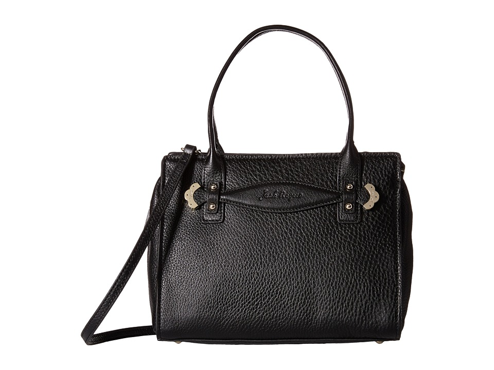 Jack Rogers - Cali Satchel (Black) Satchel Handbags