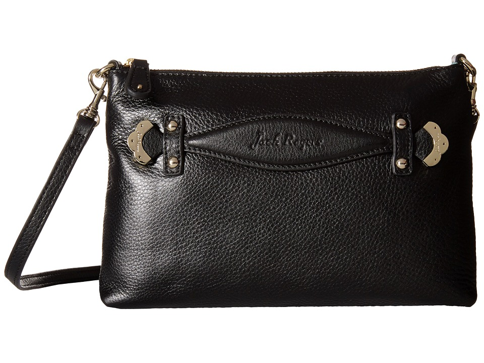 Jack Rogers - Cali Crossbody (Black) Cross Body Handbags