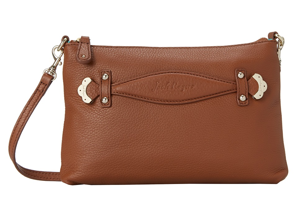 Jack Rogers - Cali Crossbody (Oak) Cross Body Handbags