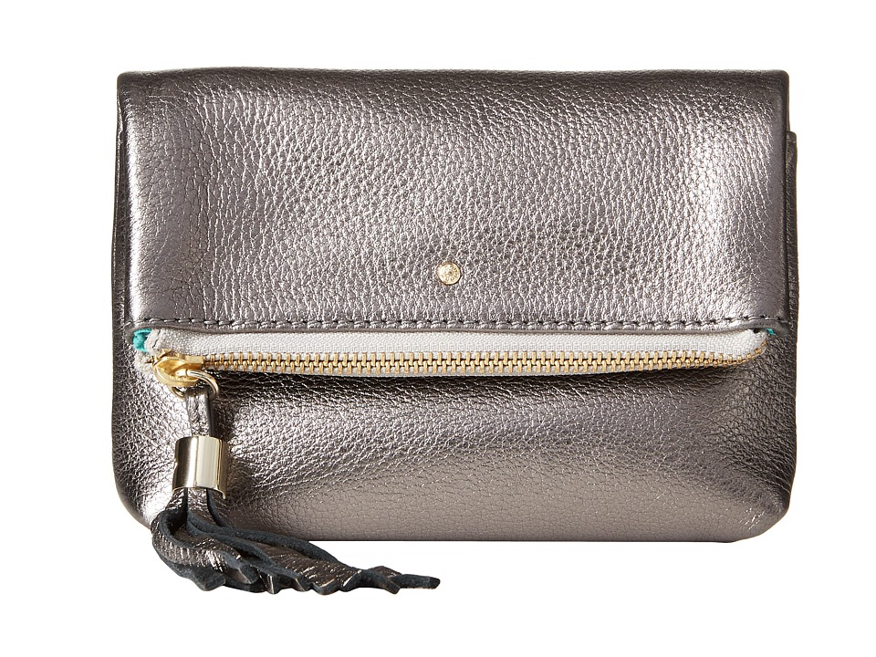 Jack Rogers - Gioia Mini (Pewter) Cross Body Handbags
