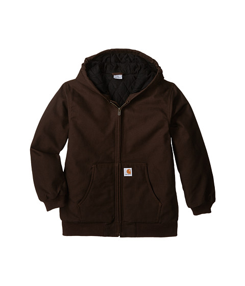 Carhartt Kids - Active Jac (Big Kids) (Mustang Brown) Boy
