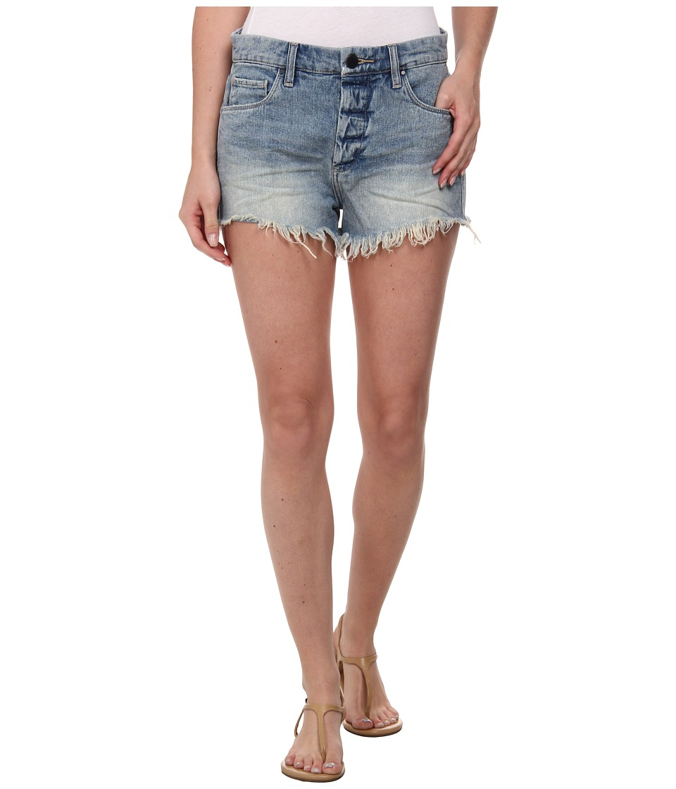 Blank NYC - Denim Hi Rise Shorts (Light Blue) Women