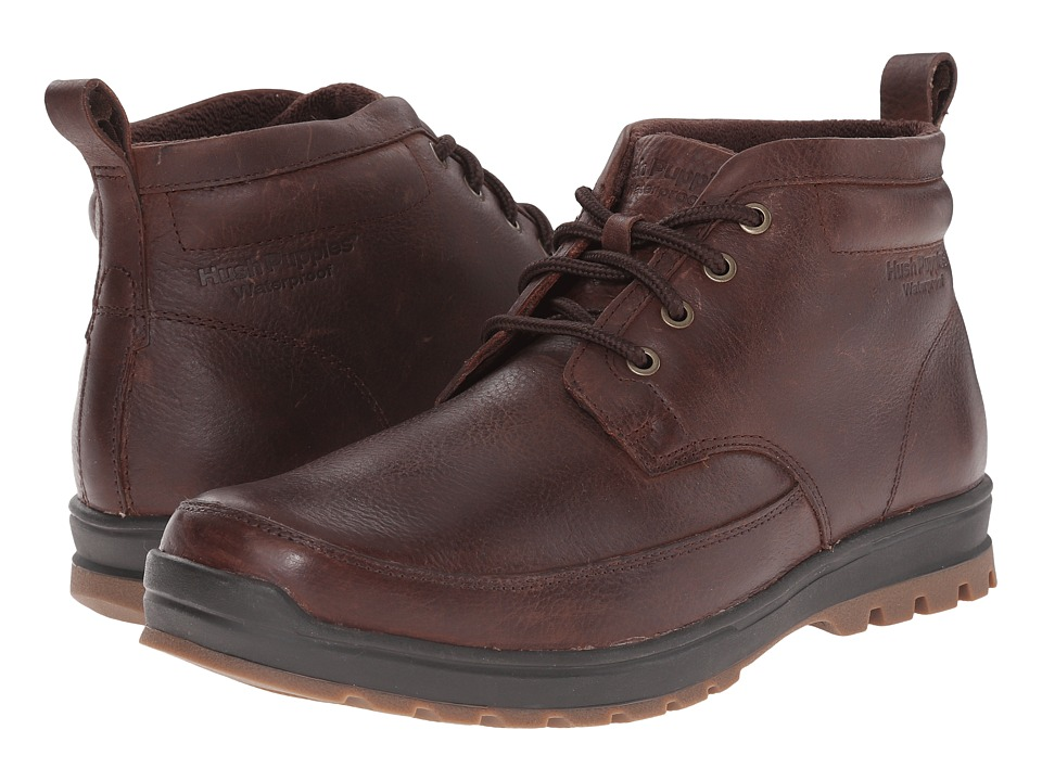 Hush Puppies - Dutch Abbott (Brown Waterproof Leather) Men