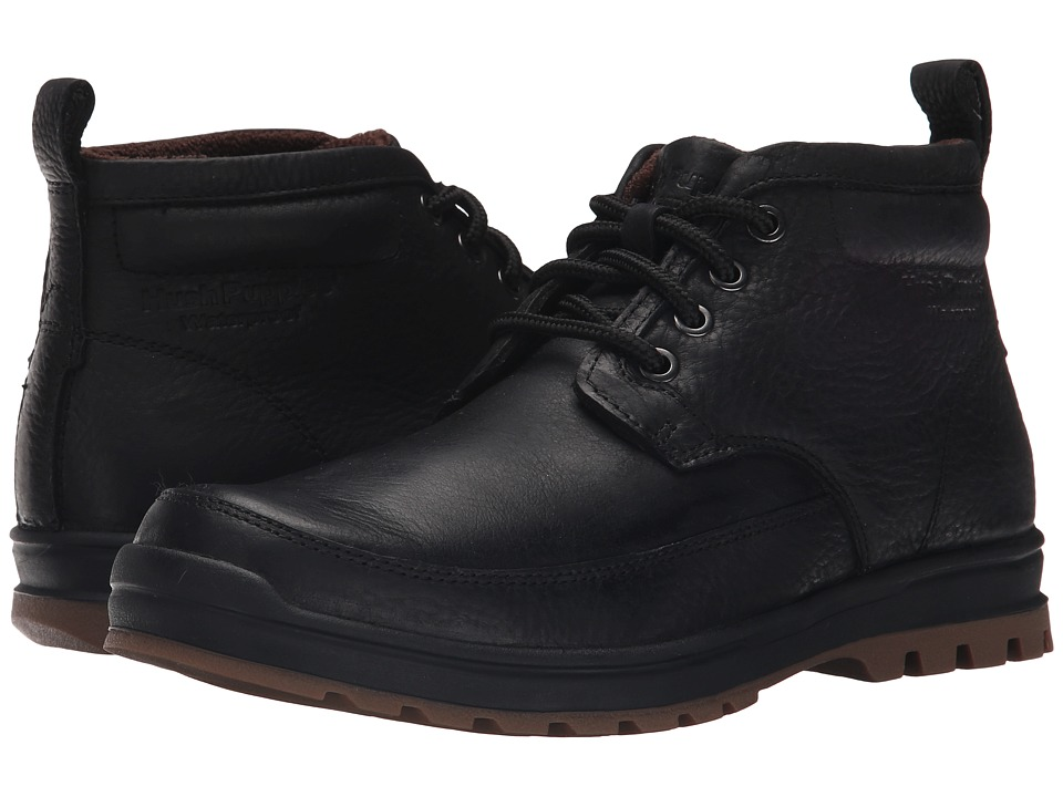 Hush Puppies - Dutch Abbott (Black Waterproof Leather) Men