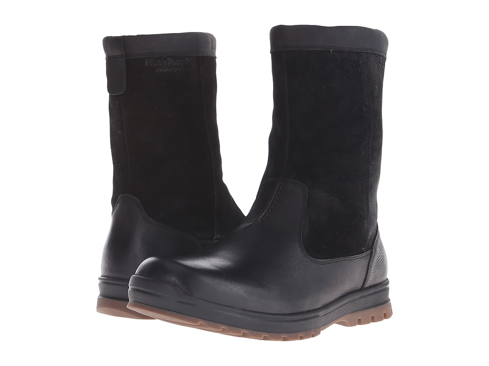Hush Puppies - Gunner Abbott (Brown WP Leather) Men's Zip Boots
