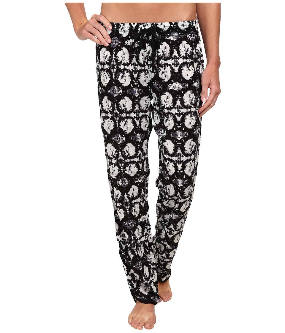 P.J. Salvage - Wanderlust Rayon Challe Pants (Black) Women