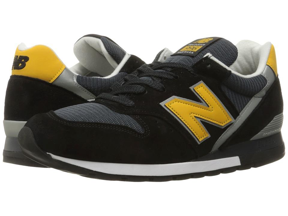 New Balance Classics - M996 (Black/Pig Suede/Mesh) Men's Classic Shoes