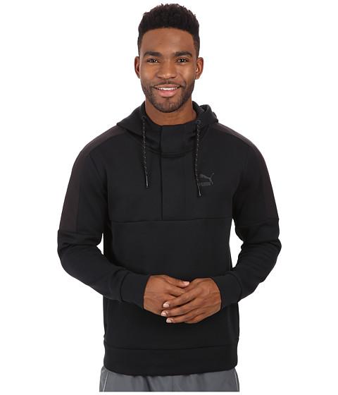 PUMA - Evo 1/2 Zip Top (Black) Men's Long Sleeve Pullover