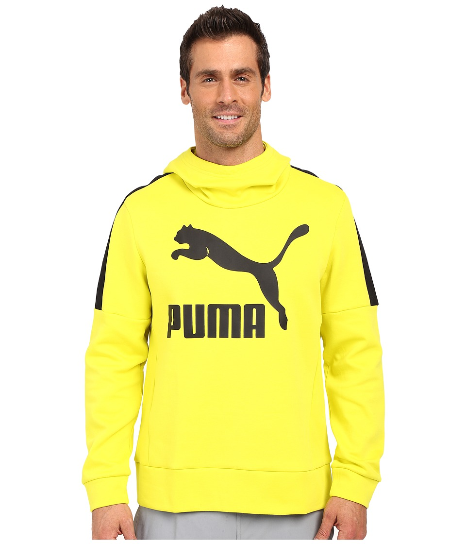 PUMA - Cowl Neck Hoodie (Sulphur Spring/Black) Men's Sweatshirt