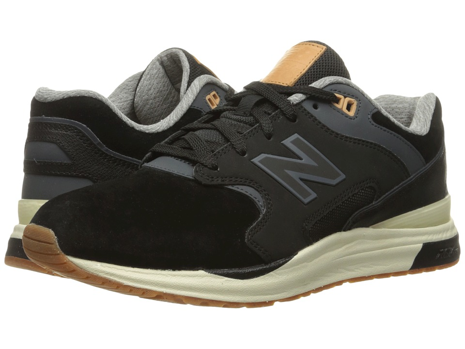 New Balance Classics ML1550 (Black Suede) Men