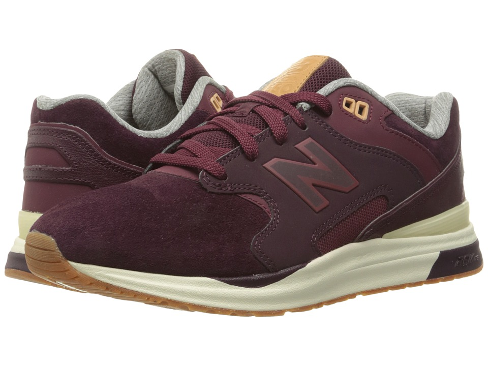New Balance Classics - ML1550 (Burgundy Suede) Men's Classic Shoes