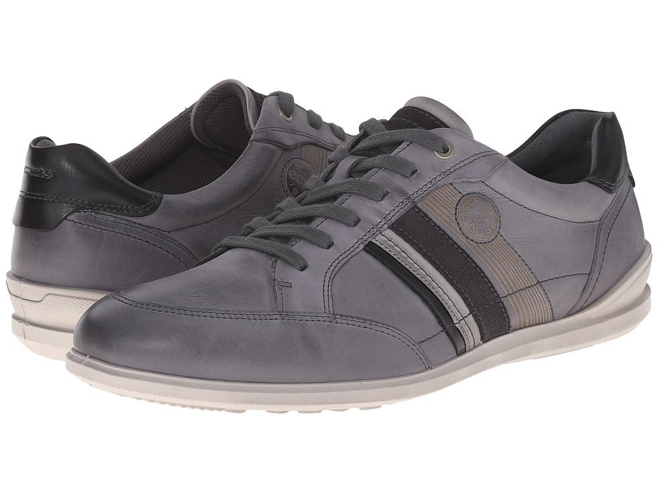 ECCO - Chander Modern Sneaker (Titanium) Men's Lace up casual Shoes