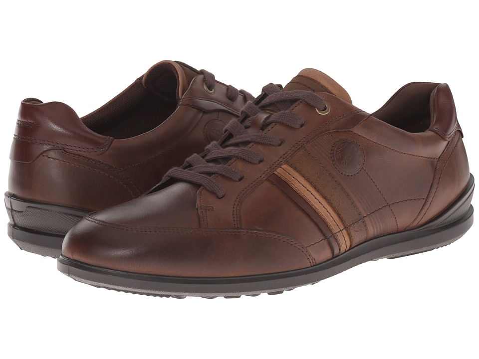 ECCO - Chander Modern Sneaker (Cocoa Brown) Men's Lace up casual Shoes