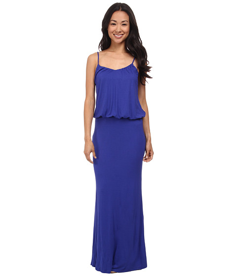 Brigitte Bailey - Kelsie Spaghetti Strap Maxi Dress (Royal) Women's Dress