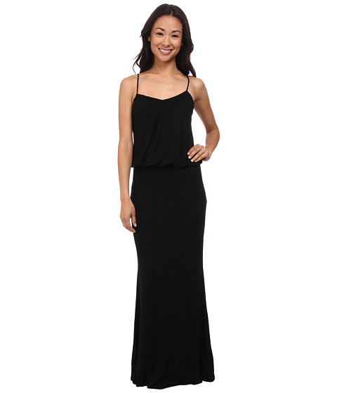 Brigitte Bailey - Kelsie Spaghetti Strap Maxi Dress (Black) Women