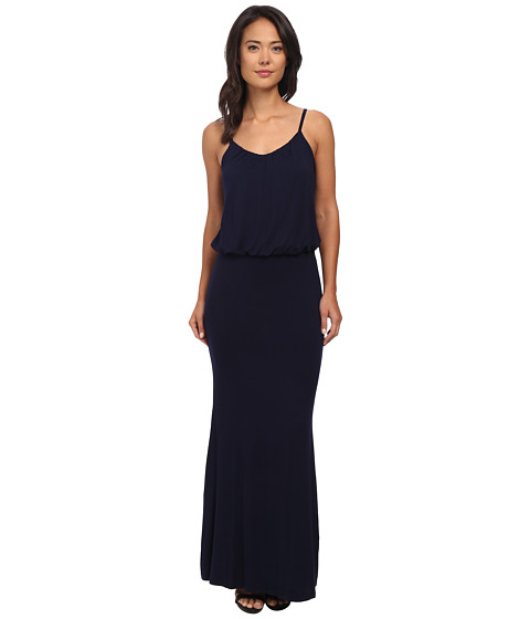 Brigitte Bailey - Kelsie Spaghetti Strap Maxi Dress (Navy) Women's Dress