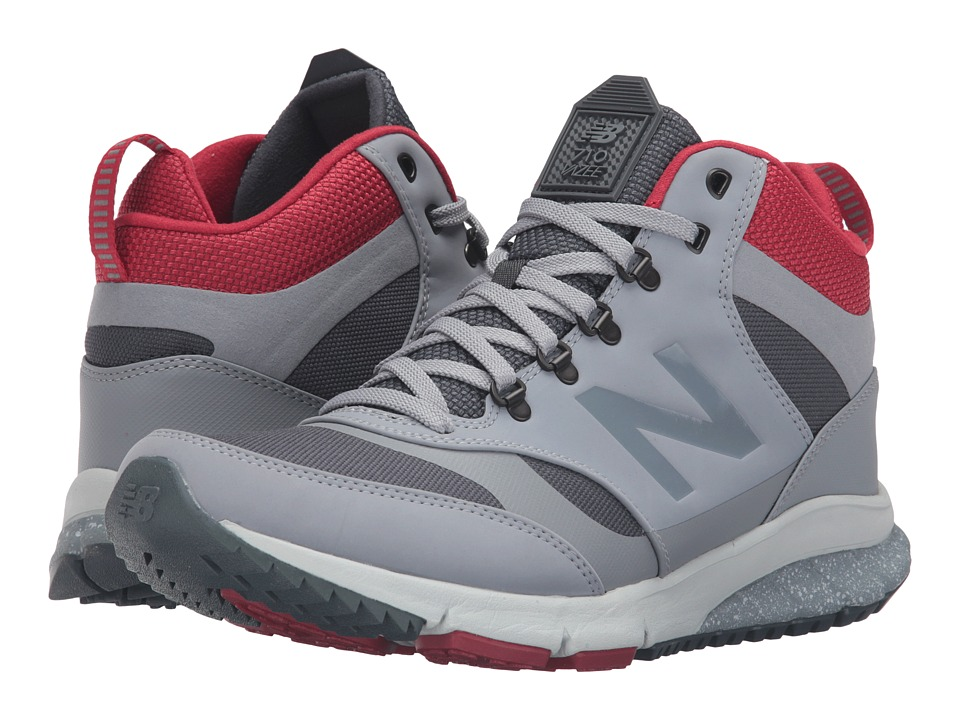 New Balance - HVL710 (Grey/Navy Synthetic/Textile) Men