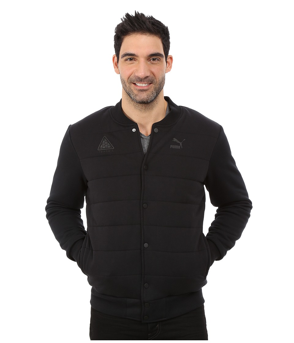 PUMA - Padded Bomber Jacket (Black) Men's Coat